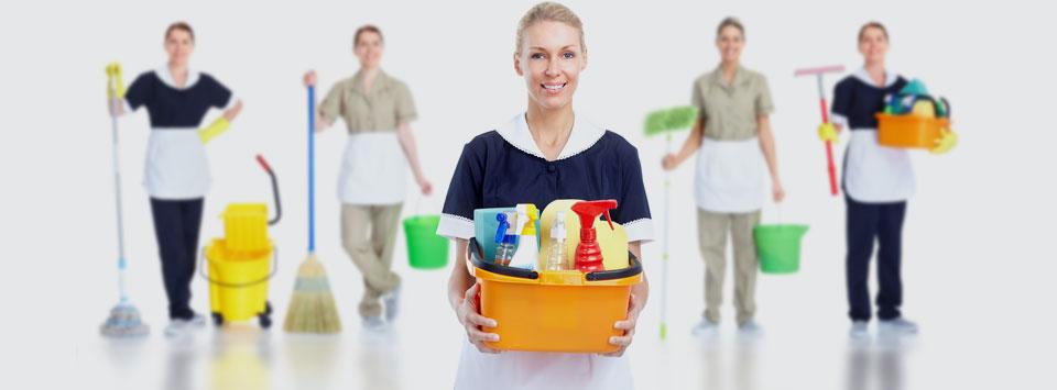 Prestadora de serviços de limpeza