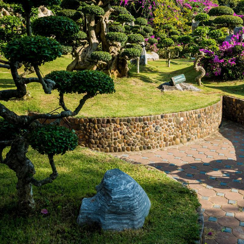 manutenção de jardins e conservação de áreas verdes