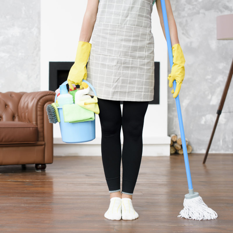 Orçamento de serviços terceirizados de limpeza